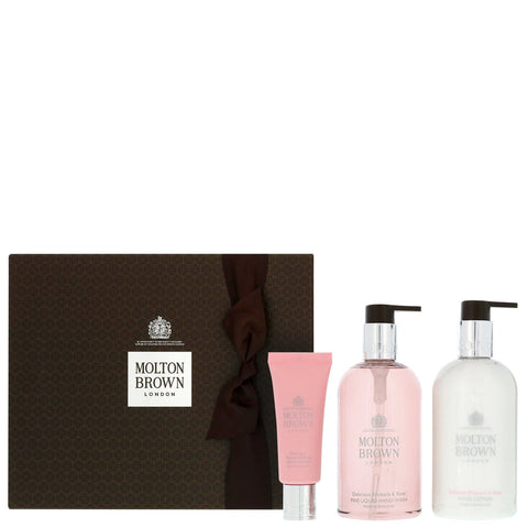 Molton Brown Gifts & Sets Delicious Rhubarb & Rose Hand Gift Set - Beautyshop.fr