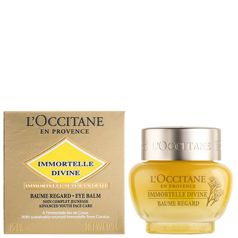 L'Occitane Immortelle Divine Baume Yeux 15 ml