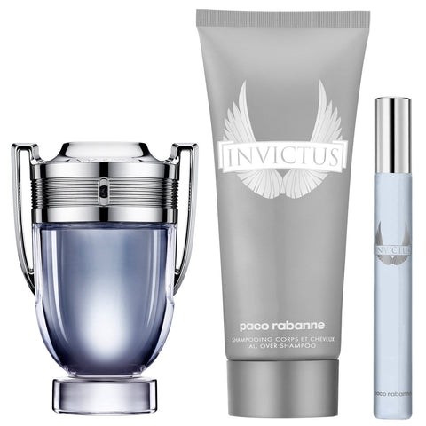 Paco Rabanne Christmas 2020 Invictus Eau de Toilette Spray 50 ml Coffret Cadeau
