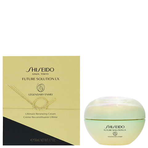 Shiseido Day And Night Cream Future Solution LX: Legendary Enmei Ultimate Renewing Cream 50ml - Beautyshop.it