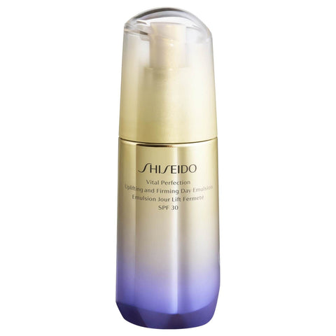Shiseido Vital Perfection Uplifting and Firming Emulsion na dzień SPF 30 - Beautyshop.ie