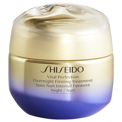 Shiseido Vital Perfection Overnight Ujędrnianie Kuracja - 50ml