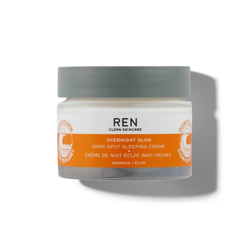 REN Clean Skincare Overnight Glow Dark Spot Sleeping Cream 50ml - крем для сна