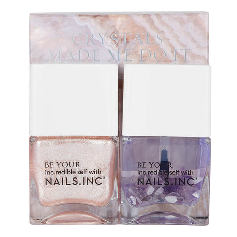 paznokcie inc. Crystals Made me do it Nail Polish Duo 2 x 14ml - Beautyshop.ie