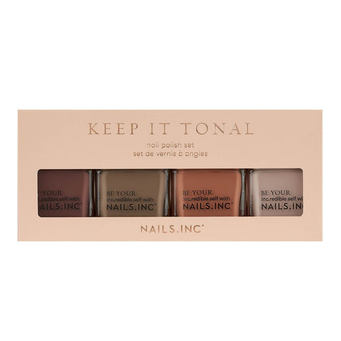 nehty vč. Keep it Tonal Nail Polish Set 4 x 14ml - Beautyshop.cz