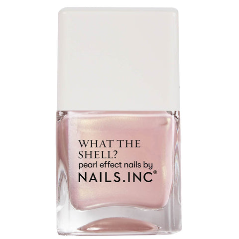 nails inc. What the Shell Shells Aloud Top Coat 14ml - Beautyshop.ie