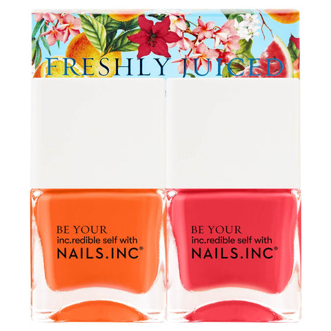 гвозди вкл. Freshly Juiced Top Coat Duo 2 x 14 мл - Beautyshop.ie