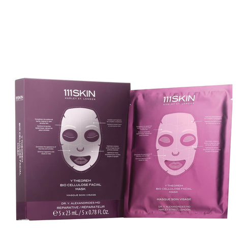 111SKIN Y Theorem Bio Cellulose Facial Mask Box - Beautyshop.ie