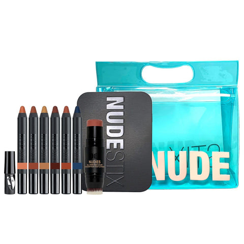NUDESTIX Sun and Sea Nude Beach Palette (Worth £126.00) - Beautyshop.ie