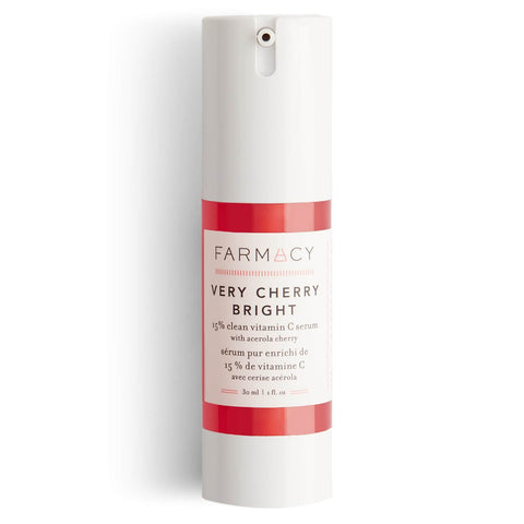 FARMACY Very Cherry Bright 15% Suero limpio de vitamina C 30ml - Beautyshop.es