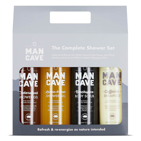 Set doccia completo ManCave - Beautyshop.it
