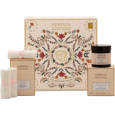 Aurelia Probiotic Hudvård The Weekend Facial Set