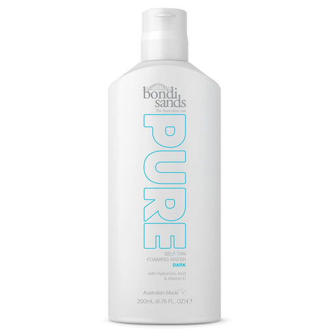 Bondi Sands Pure Self Tan Foaming Water - Dark 200ml