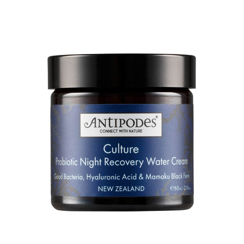 Antipodes Culture Probiotic Night Recovery Water Cream 60ml - Beautyshop.ie
