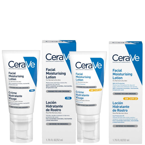 CeraVe Day and Night Moisturizing Duo - Beautyshop.fi