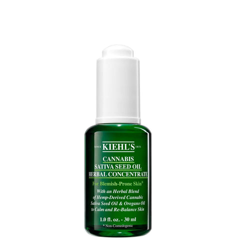Kiehl's Cannabis Sativa Seed Oil Herbal Concentrate 30ml - Beautyshop.dk