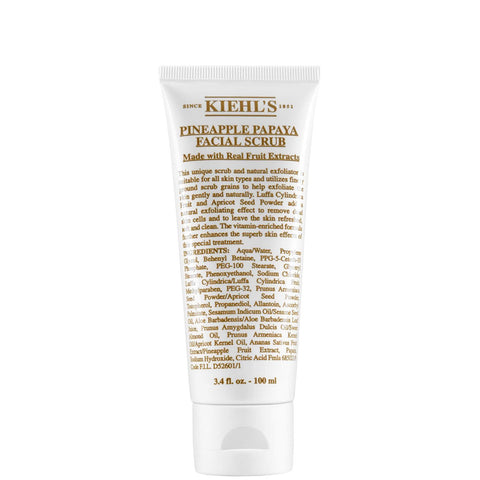 Kiehl's Pineapple Papaya Facial Scrub 100ml - Beautyshop.dk