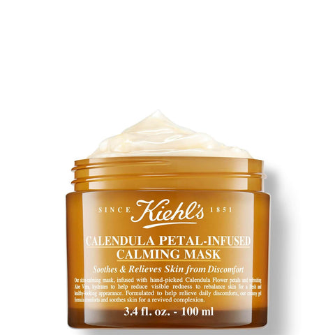 Kiehl's Calendula Petal-Infused Calming Masque 100ml - Beautyshop.dk