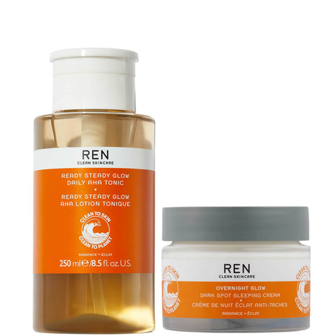 """""""REN Clean Skincare The Radiance Night Time Duo"""" - Beautyshop.lt"""