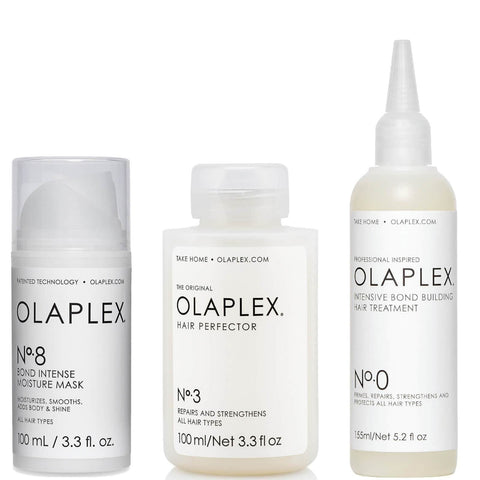 Olaplex No.0, No.3 och No.8 Bundle - Beautyshop.se