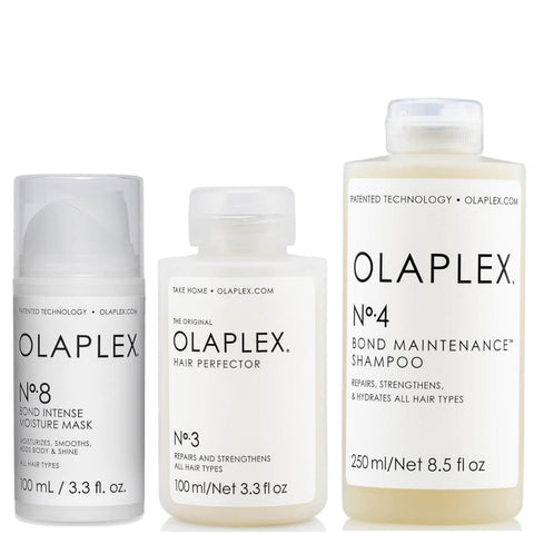 Olaplex No.3, No.4 och No.8 Bundle - Beautyshop.se