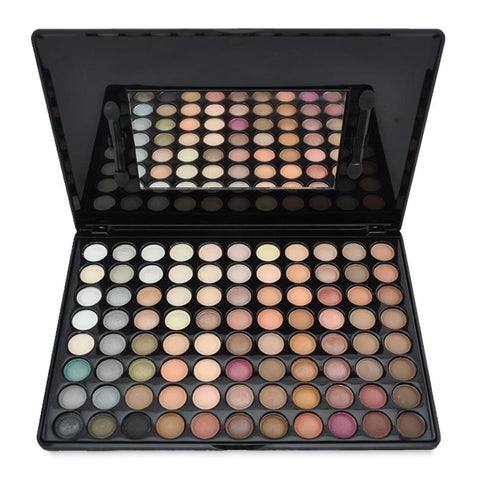 88 Colours Warm Nature Makeup Set Professional Box senčilo za oči - Beautyshop.ie