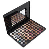 Warm Nature Makeup Set Professional Box Eyeshadow (88 Colours) - Beautyshop.ie