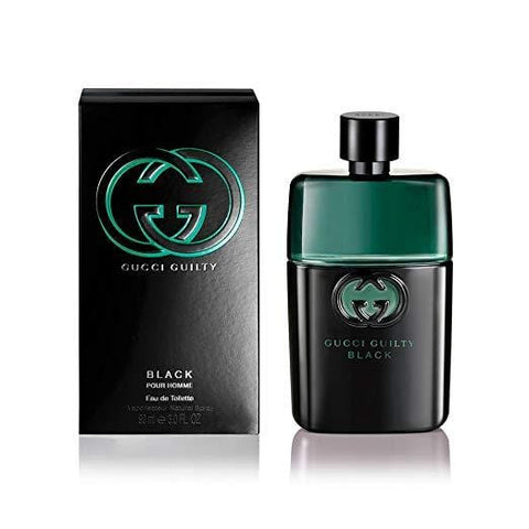 Gucci Guilty Black Pour Homme Eau de Toilette 50ml Spray - Beautyshop.ie