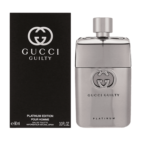 Gucci Guilty Platinum EDT For (50ml) - Beautyshop.ie