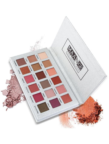 Professional 18 Colors Natural Colors Long Lasting Eyeshadow Palette - Beautyshop.ie