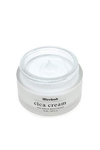 Meebak Cica Face Cream Moisturizer 50ml  Natural Day Cream and Night Cream