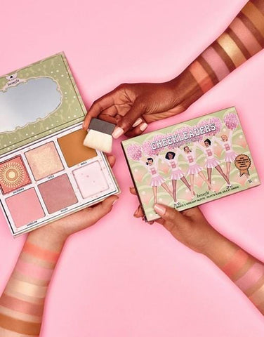 Benefit Cheekleaders Pink Squad Paleta
