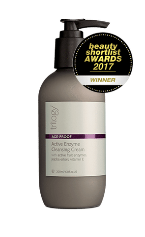 Crema de curățare activă a enzimelor Trilogy Anti-Age Proof 200ml - Beautyshop.ie