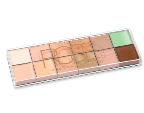 O.TWO.O Rose Gold Professional 12 maskirna korektor paleta - Beautyshop.ie