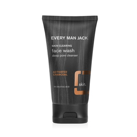 Every Man Jack Skin Clearing Activated Charcoal Face Wash - 5.0 fl oz