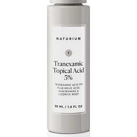 Naturium Tranexamic Topical Acid 5% - per macchie scure e melasma con acido cogico - 30ml