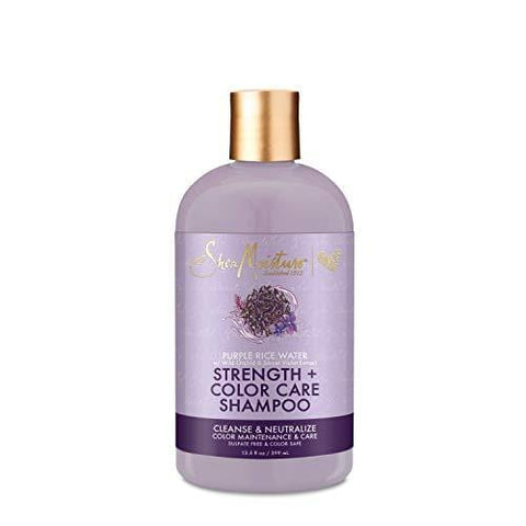 SheaMoisture Purple Rice vandens šampūnas - 399ml