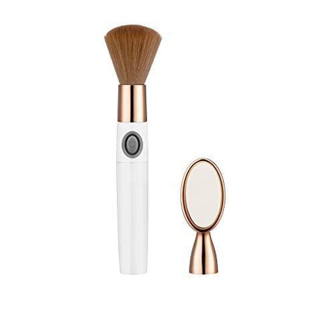 Ensemble de pinceaux de maquillage vibrants interchangeables True Glow Glam de Conair - Beautyshop.fr