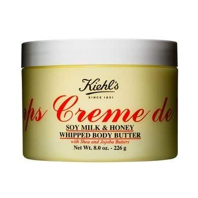 Kiehl's - Creme de Corps Soy Milk & Honey Whipped Body Butter 12oz-340g - Beautyshop.ie