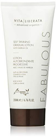 VITA LIBERATA Organic Fabulous Gradient Self Tanning Lotion - 200ml