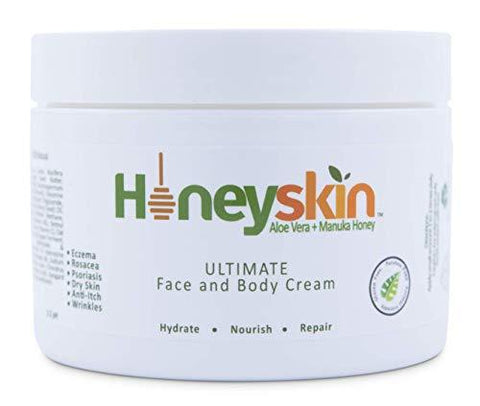 Honey Skin Ultimate Organic Face & Body Cream - Beautyshop.se