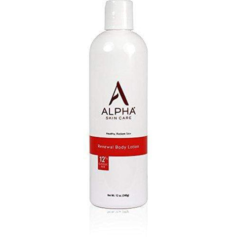 Alpha Skin Care - Renewal Body Lotion, 12% Glycolic AHA (340g) - Beautyshop.ie
