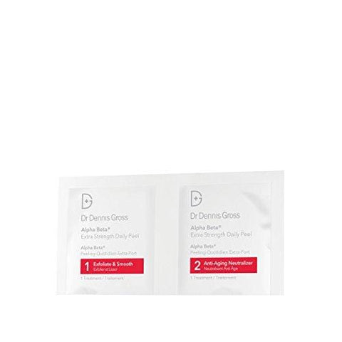 Dr Dennis Gross Skincare Alpha Beta Peel, Extra Strength - Paquete de 5