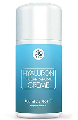 BIONIVA Hyaluron Day Mineral Creme for Face, Hands & Décolleté - 100ml - Beautyshop.se