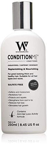 Watermans 'Condition Me' Kolesterol Conditioner med koffein, rosmarin - (250 ml) - Beautyshop.dk