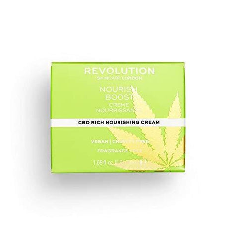 Revolution Skincare Nourish Boost CBD krema - 50ml