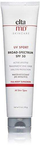 EltaMD UV Sport Sunscreen Broad-Spectrum SPF 50 (85ML) - Beautyshop.ie