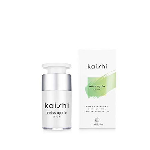Kaishi - Swiss Apple Stem Cell Serum - rebuilding , protective for skin with signs of aging - 15 ml