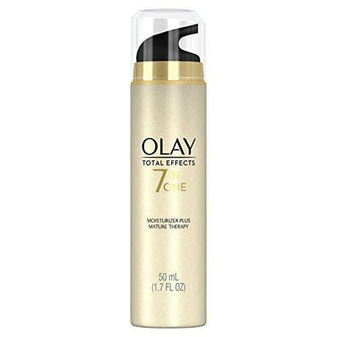 Hydratant pour le visage par Olay Total Effects 7-In-1 Moisturizer Plus, Mature Therapy - 50 ml - Beautyshop.fr