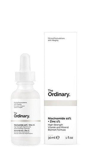 Obični niacinamid 10% + cink 1% 30ml - Beautyshop.ie